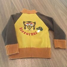 Grow Glow Child Vintage Sweater - Nocturnal Owl