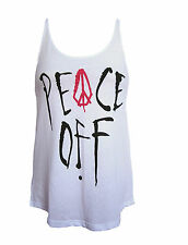 NEW VOLCOM WOMENS GRAPHIC CAMI TANK TOP T SHIRT TEE LOOSE FIT TUNIC BLOUSE SZ XS
