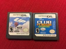 Lot of 2 Disney Games Up Club Penguin (Nintendo DS) - Tested and Guaranteed