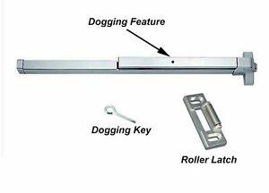 Dynasty Hardware Push Bar Panic Exit Device Aluminum DYN-500P