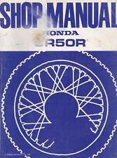 Honda CR50R 1983 Shop Manual