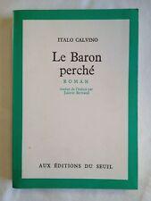 Le Baron Perché - Italo Calvino ; Juliette Bertrand (traduction)