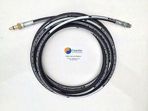 6 Metre Lavor Superwash 150/160 Pressure Washer Drain Cleaning Hose Six 6M M