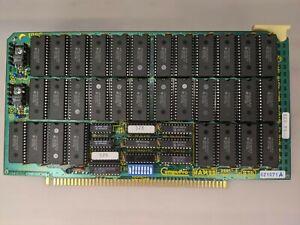 CompuPro Ram 22 S100 card 256K 1985 - Vintage Computer Card Free shipping
