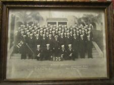 PICTURE IN A FRAME OF U.S. NAVY TRAINING CENTER ON 12/18/1951 L.L. KNIGHT BMC.