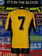 4/5 Dynamo Dresden adults L #7 ultra rare football shirt jersey trikot