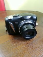 Canon PowerShot SX130 IS 12.1MP Digital Camera w/12x Zoom Tested Works