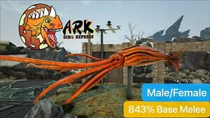 ark pc pve 843% Base Melee Tuso Pair With Free 124 Saddle
