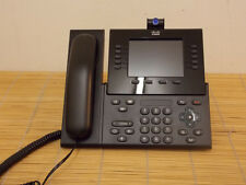 Cisco CP-9951-CL-CAM-K9 SIP  VoIP IP Video Phone Telefon