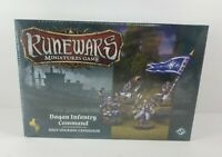 Runewars Miniature Game Daqan Infantry Command Unit Upgrade Expansion New Sealed