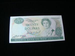 New Zealand 1981-92 $20.00 Banknote VF+ Pick #173c