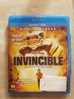 Disney's Invincible Mark Wahlberg (2006) Blu-ray *Combine Shipping & Ships FAST!