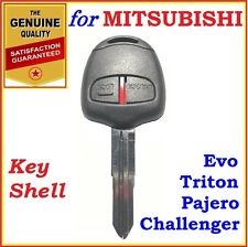 Mitsubishi Triton / Challenger / Pajero / Evo Remote Key Shell Case 2 Buttons