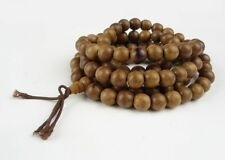 Natural Agilawood Fragrant Aloeswood 108 Beads Payer Bracelet 9mm AAA