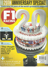 F1 RACING,  20th ANNIVERSARY SPECIAL  AUGUST, 2016  NO.246  20 YEARS OF STAR CAR