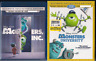 NEW Disney Pixar Monsters, Inc. University Blu-ray/DVD 3D NO DIGITALS