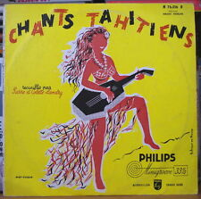 CHANTS TAHITIENS ELLA BERDY EILEEN COWAN 25cm FRENCH LP PHILIPS