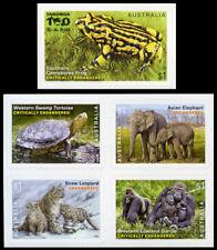 2016 Endangered Wildlife - Set of 5 Self Adhesive Booklet Stamps - MUH