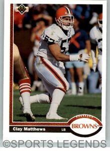 1991 Upper Deck NFL #310 Clay Matthews