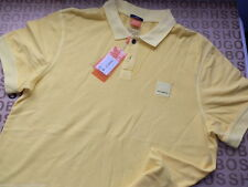 HUGO BOSS Cotton Fitted Polo Casual Shirts & Tops for Men