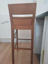 Solid oak breakfast bar stools