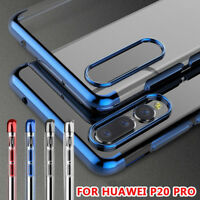 3979 Luxury Shockproof Plating Clear Phone Case Cover For Huawei P20 Pro/Lite