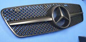 W203 C230 C320 C280 C220 C32 Grille Mercedes Benz + matte black paint flat bk