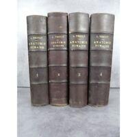 Testut Traité d'anatomie humaine 1905-1912 médecine figures anatomiques histoire