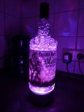 Captain Morgan Black Spiced Lampe LED Farbwechsel Un. Rum Flasche Geschenk Party