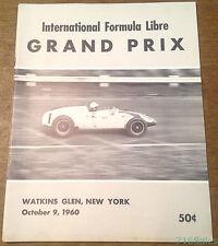 1960 Watkins Glen International Formula Libre Grand Prix Program, Jack Brabham