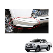 Front Side Skirt White 2Pc for Mitsubishi L200 Pickup Triton Plus 2015 2016 17