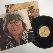 Autographed John Denver Windsong Record Vinyl LP Signed Rare VG+/VG+