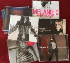 Lot of 8 Import CD singles by Melanie C