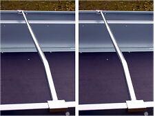 2 x Alu Bügel verstellbar Halterung f Flachplane für PKW Anhänger Stema 100-145