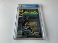 PUNISHER LIMITED SERIES 4 CGC 9.4 WHITE PGS NEWSSTAND EDITION MARVEL COMICS 1986