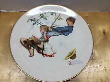 Collectible 1972 Norman Rockwell Four Seasons Plate Summer Flying High Gorham