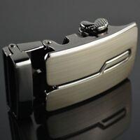 Head Leather Men's Strap Waist Automatic Belt Buckle Waistband