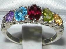 Heating Anniversary Oval Fine Gemstone Rings