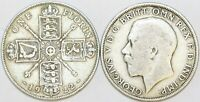 1920 to 1926 George V Silver Florin First Design Your Choice of Date / Year