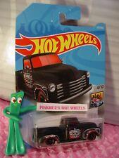 '52 CHEVY pickup truck #327✰black;red mc5✰HW METRO✰2018 i Hot Wheels WW CASE P