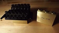 Floyd rose tremolo big brass sustain block 42mm bridge upgrade