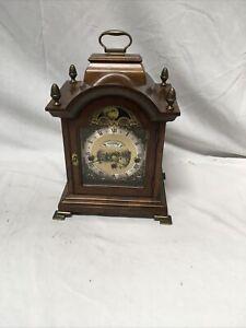 Vintage WUBA Warmink Mantel Clock Untested