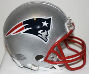 Full Size New England Patriots Replica Helmet RIDDELL Some Scratches Great Shape
