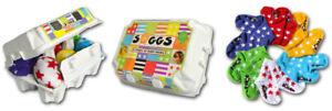 "SOGGS ""Stars"" 6 Paar Sterne Baby-Socken im Eierkarton"