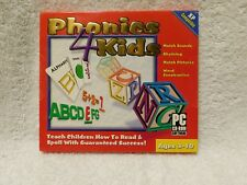 Cosmi Phonics 4 Kids Cd ROM Computer Program New