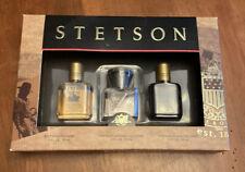 Stetson COLLECTION 3 Piece Gift Set UNTAMED+ORIGINAL+BLACK Cologne MEN