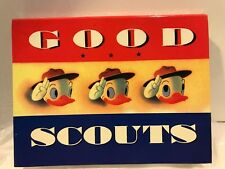 Disney Trading Pins Box Set Good Scouts Limited Edition 3000 Sets Donald Duck