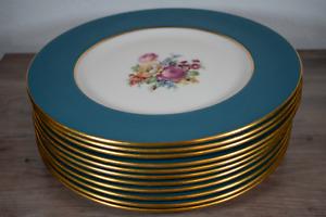 Rare Lenox China Plates Code 2020/J345 Made 1934-1947