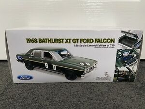 Classic Carlectables 1/18 Ford XT GT Falcon #9D Bathurst 1968 Gibson / Seton