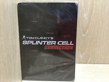 Tom Clancy's Splinter Cell XBOX 360 Game Steel Book New & Sealed